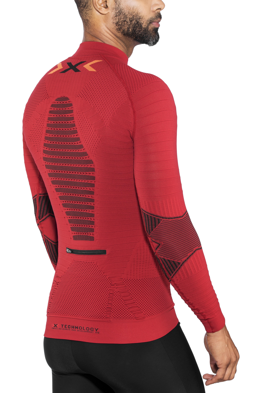 6bb8df4af6 X-Bionic Trail Running Effektor OW - Camiseta manga larga running Hombre -  rojo